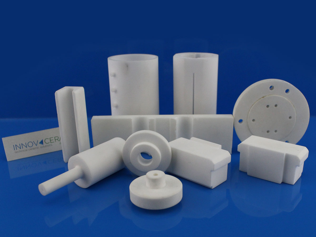 machinable glass ceramic components show