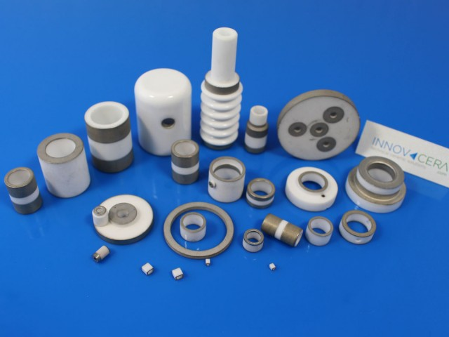 metallized ceramic component