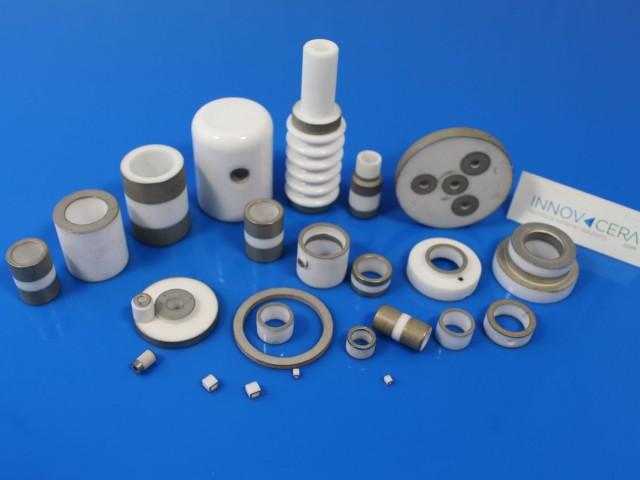 metallized ceramic component