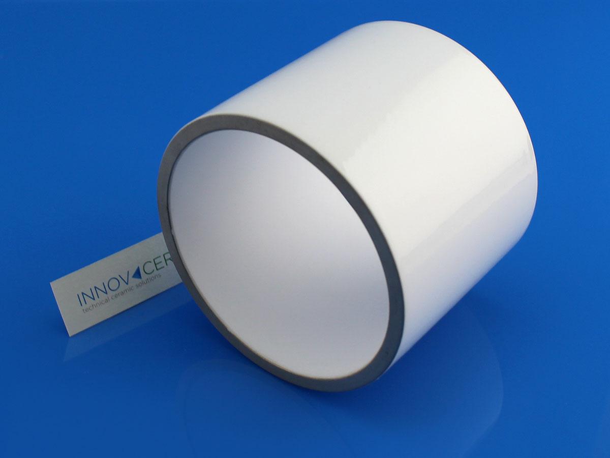 metallized ceramic for vacuum interrupter