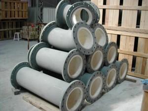 ceramic lined pipe 10