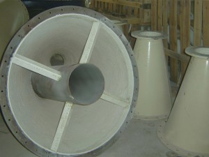 chute ceramic lining