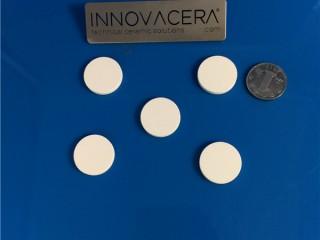 1 μm Pore Size Porous Ceramic Discs