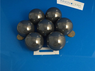 1 11 16 In 42.8625mm Silicon Nitride Ceramic Ball For Petroleum Oil Industry