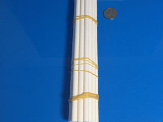 2 Holes 99 Alumina Insulator Tubes For Furnaces