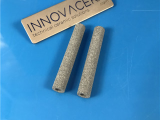 60um Alumina Porous Ceramic Tube Sleeves