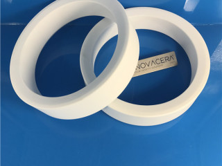 95 Alumina Big Ceramic Insulator Ring Spacer
