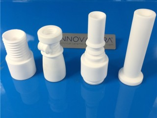 95 Alumina Ceramic Nozzles With Screws