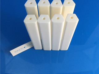 99 Alumina Ceramic Support Rods Shafts For Furnaces