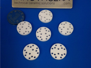 Alumina Ceramic Disc With Holes