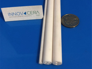 Alumina Ceramic Insulator Tubes With 2 Holes