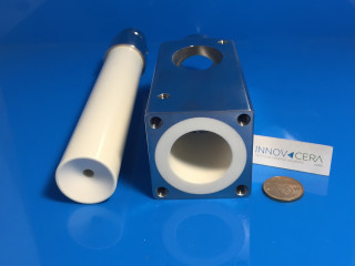 Alumina Ceramic Piston As Nozzle For Comestic Package