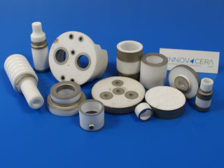 Alumina Metallized Ceramic Insulator Parts