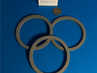Alumina Porous Ceramic Rings