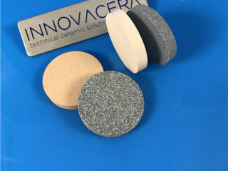 Alumina Silicon Carbie Porous Ceramic Discs