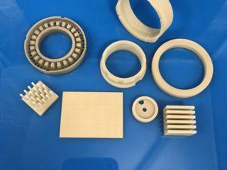 Aluminum Nitride Ceramic Component.