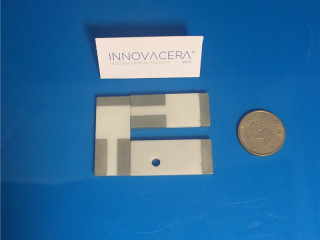 Beryllium Oxide Beryllia Metallized Ceramic Plates For Electrical Device