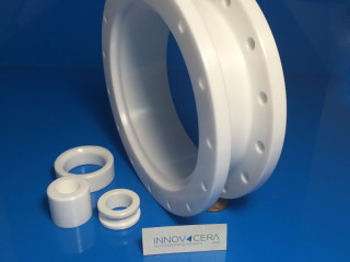 Big Zirconia Ceramic Flange For Thermoacoustic Generator