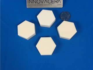 Hexagon Ceramic Tiles Plates