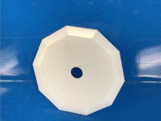 High Hardness Customized Decagon Zirconia Ceramic Blade For Cutting Wire
