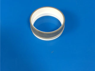 Metallized 99% Beryllium Oxide Beryllia Beo Ceramic Ring
