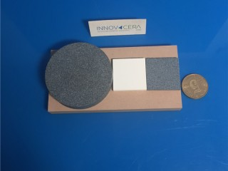 Porous Ceramic Tiles For Use In XRD Applications