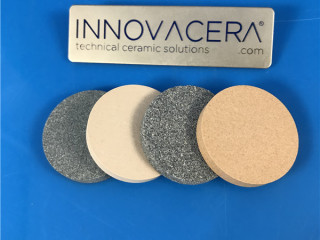 Silicon Carbide Porous Ceramic Discs