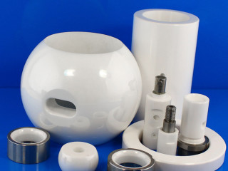 Zirconia Ceramic Part For Fluid Controlling