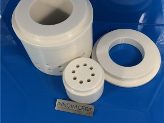 Zirconia Ceramic Parts For Fluid Controlling