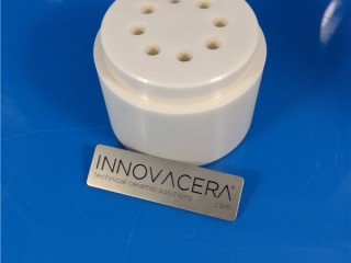 Zirconia Ceramic Sleeve With Holes For Fluid Controlling