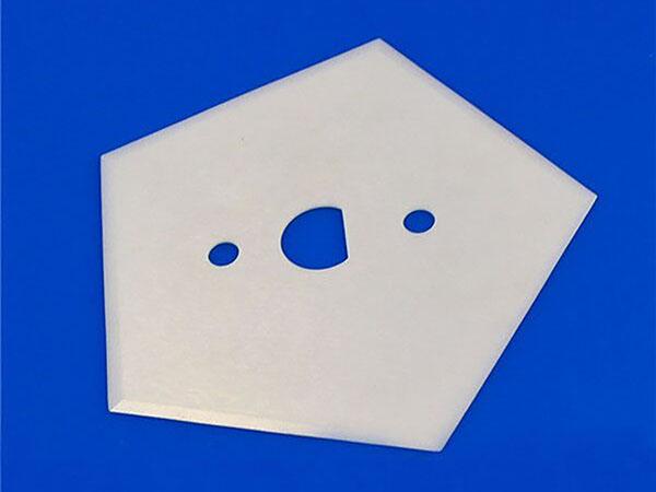 Ceramic pentagon blade